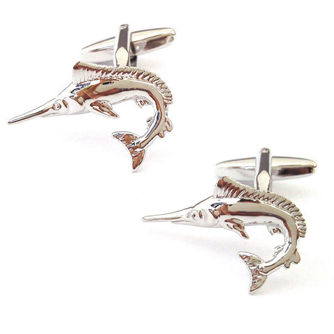 Marlin Swordfish Cufflinks