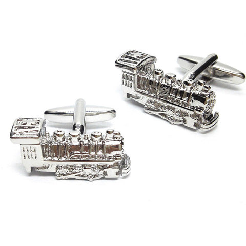 Train Locomotive Cufflinks