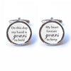 My Heart Forever Yours to Keep Cufflinks