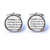 Wedding Groom Word Definition Cufflinks