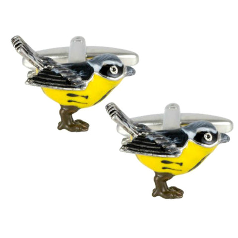 Yellow Bird Cufflinks