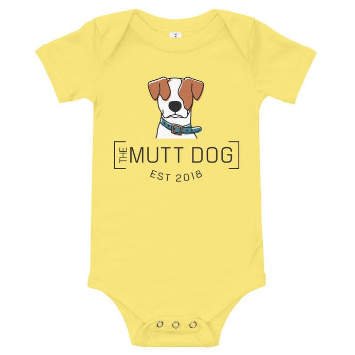 Baby Mutt Dog Bodysuit