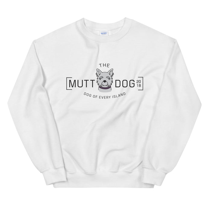 Mutt Dog Crewneck Sweatshirt