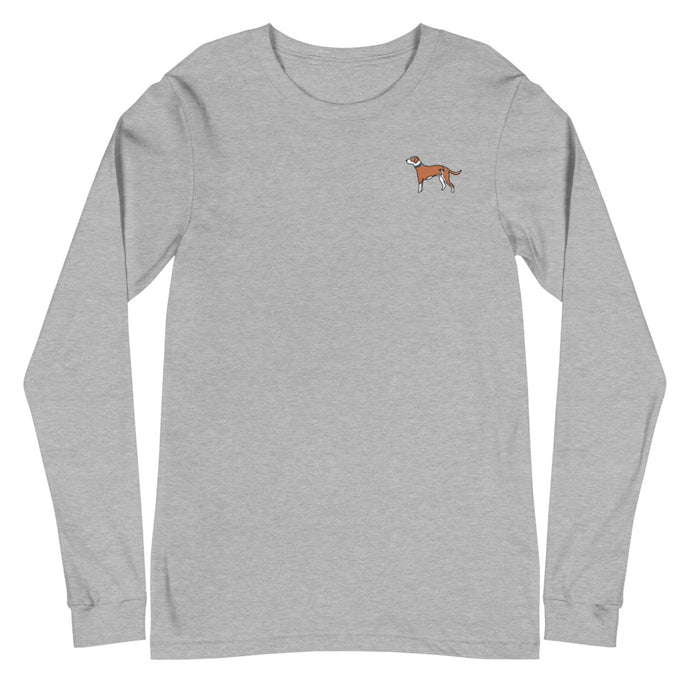 Mutt Dog Long Sleeve Tee