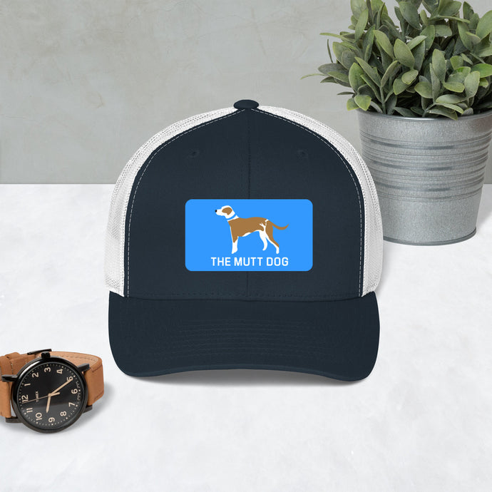 Mutt Dog Trucker Hat