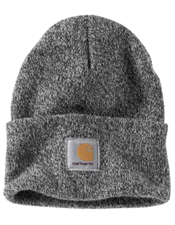 Carhartt Beanie in Black/White