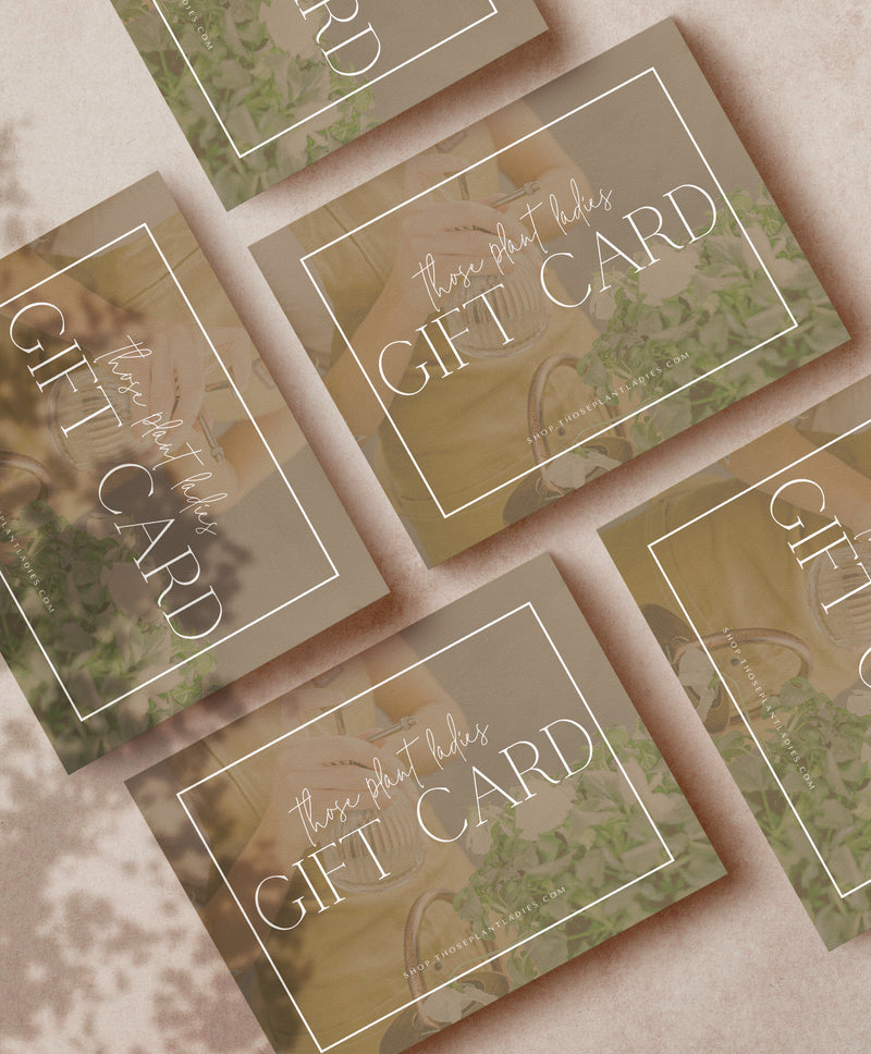 TPL Gift Card
