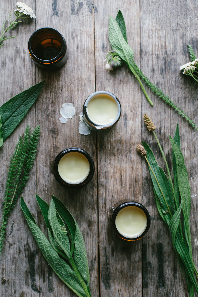Yarrow, Comfrey and Plantain Salve