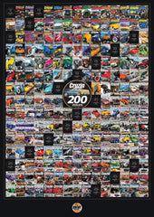 Cruzin Magazine 200 Issue Commemorative Poster