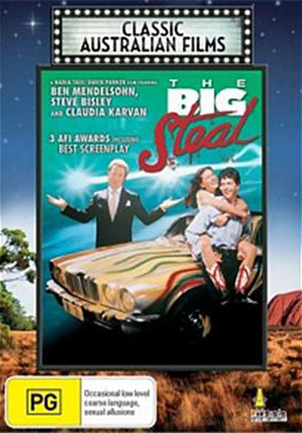 The Big Steal (1990) DVD