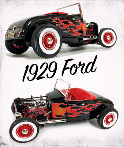ACME 1929 Ford Hot Rod Roadster 1:18 Scale