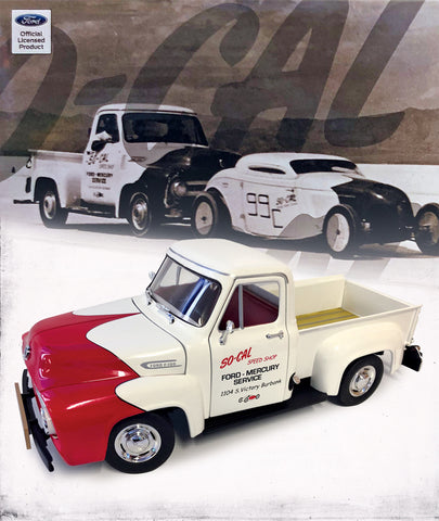ACME So-Cal Speed Shop 1953 Ford Push Truck 1:18