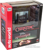 CHRISTINE DVD PLUS DIECAST MODEL IN DARNELLS GARAGE DIORAMA 1/64