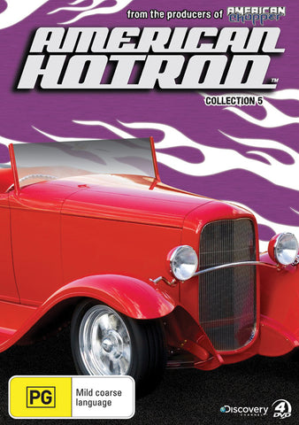 American Hot Rod Collection 5 Multi Disc Set