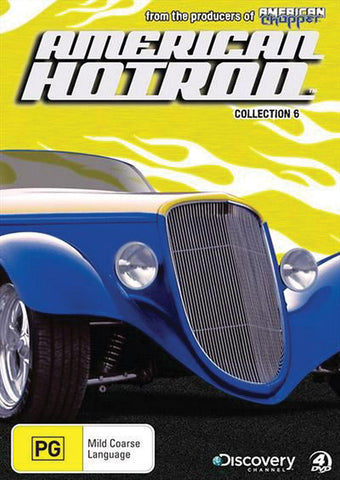 American Hot Rod Collection 6 Multi Disc Set
