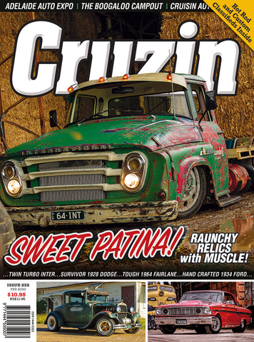 CRUZIN MAGAZINE #232 / SWEET PATINA #1