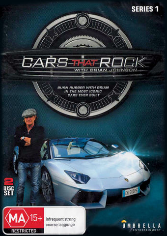 Cars That Rock: Series 1 (Twin DVD Set)