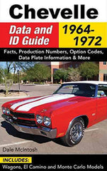 Chevelle Data and ID Guide: 1964-1972