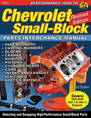 CHEVROLET SMALL-BLOCK PARTS INTERCHANGE MANUAL - REVISED ED