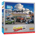 CRUISIN ROUTE66 1,000 PIECE JIGSAW PUZZLE - BOMBER COMMAND CAFE
