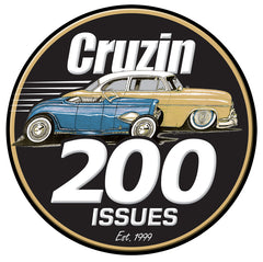 Cruzin Sticker - 200 Issues