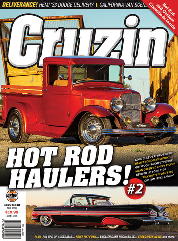 CRUZIN MAGAZINE #242 / HOT ROD HAULERS #2