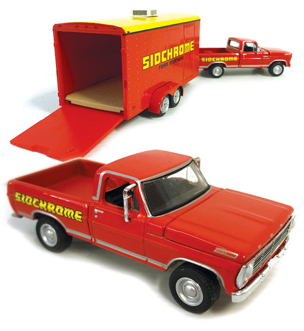 1967 FORD F100 WITH TRAILER, SIDCHROME RACING/JIM RICHARDS