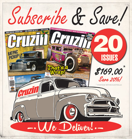 Cruzin Magazine Subscribe or Renew (Australia) 2 Years / 20 Issues