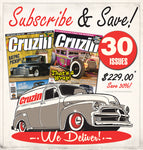 Cruzin Magazine Subscribe or Renew (Australia) 3 Years / 30 Issues