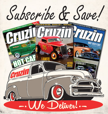 Cruzin Magazine Subscribe or Renew (Outside Australia)