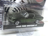 GREENLIGHT / MIJO EXCLUSIVE 1968 BULLITT MUSTANG CHROME EDITION