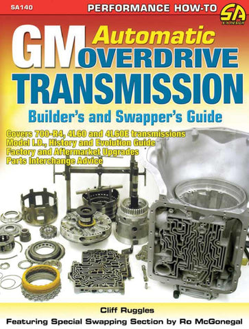 GM/Chev Automatic Overdrive Transmission Builders and Swappers Guide