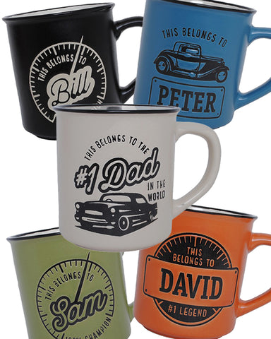 Manly Mugs - Assorted Styles and Colours