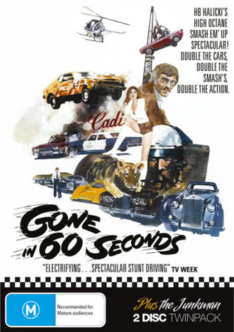 Gone in 60 Seconds (original) DVD