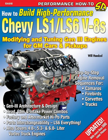 How to Build High-Performance Chevy LS1/LS6 V8s
