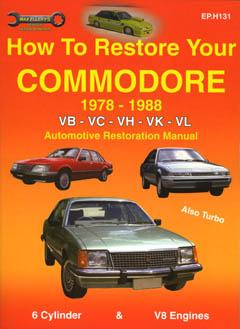 How to Restore Your Holden Commodore '78-'88 VB-VC-VH-VK-VL