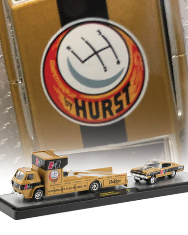 M2 MACHINES 1966 DODGE L600 COE & 1966 DODGE CHARGER 1/64