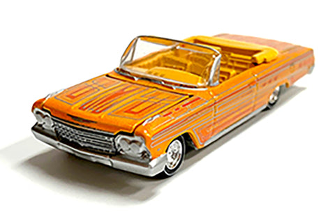 MIJO EXCLUSIVE 1962 CHEVY IMPALA SS CONVERTIBLE LOWRIDER 1/64