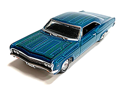 MIJO EXCLUSIVE 1966 CHEVY IMPALA SS COUPE LOWRIDER 1/64