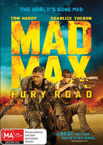 MAD MAX: FURY ROAD (2015) DVD