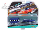 1962 CHEVY WAGON AND ALAMEDA CARAVAN TRAILER: MAISTO TOW & GO 1/64