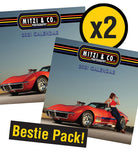 MITZI & CO 2021 PIN UP CALENDAR - BESTIE PACK!