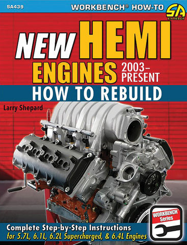 New Hemi Engines 2003-Present: How to Rebuild