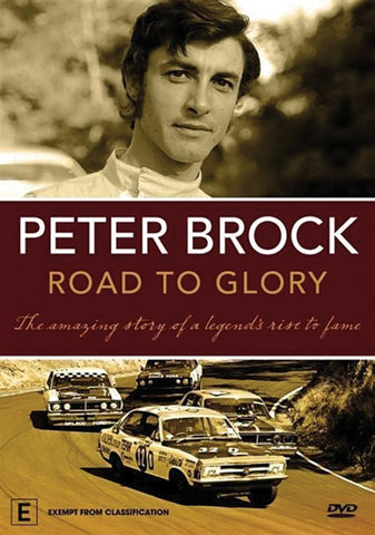 PETER BROCK: ROAD TO GLORY DVD