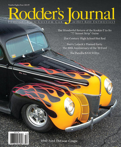 Rodders Journal #84 B-COVER