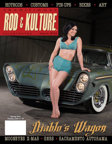 Traditional Rod and Kulture Illustrated Magazine #45