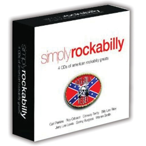 SIMPLY ROCKABILLY: 4 CDS OF AMERICAN ROCKABILLY GREATS