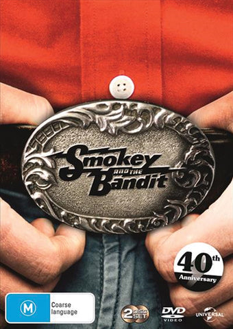 Smokey and the Bandit 40th Anniversary DVD (1977)