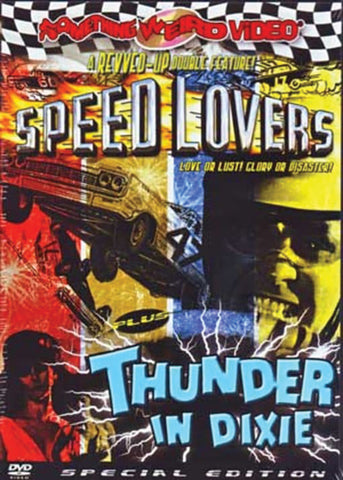 DOUBLE FEATURE: SPEED LOVERS (1968) + THUNDER IN DIXIE (1964) DVD