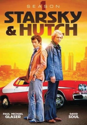 STARSKY AND HUTCH (1975) COMPLETE 1ST SEASON 4X DVD